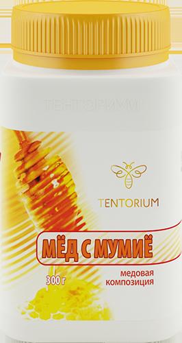 Мед с мумие, 300гр